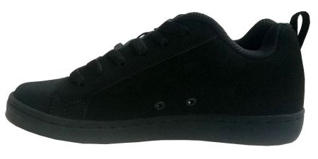 Детски Кецове DC Court Graffik SE Shoes 503643 DC 00001 BLACK изображение 3