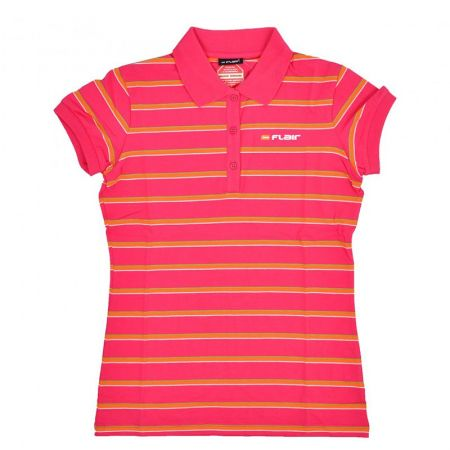 Дамска Тениска FLAIR Stripe Polo Shirt 512718 276031