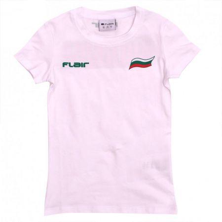 Детска Тениска FLAIR Bulgaria Basic T-Shirt 512808