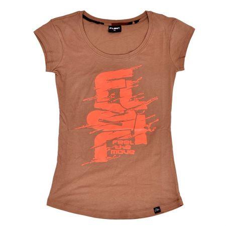 Дамска Тениска FLAIR FTM Liquid Logo T-Shirt 512723 276081