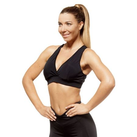 Дамско Бюстие EX FIT Sports Bra Be Shape-Black 516212