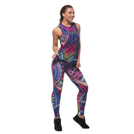 Дамски Комплект Клин / Бюстие / Топ EX FIT Colorful Maori 515986
