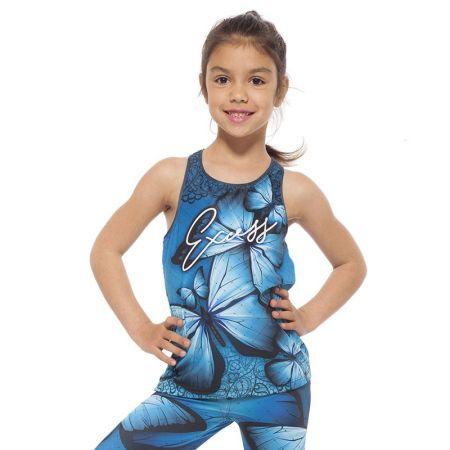 Детски Потник EXCESSWEAR Kids Top Blue Butterfly 516220