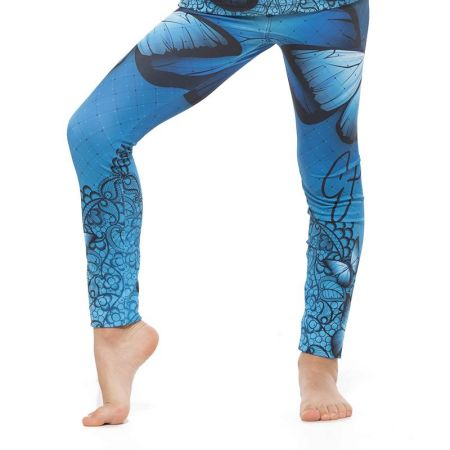 Детски Клин EXCESSWEAR Kids Legging Blue Butterfly 516218