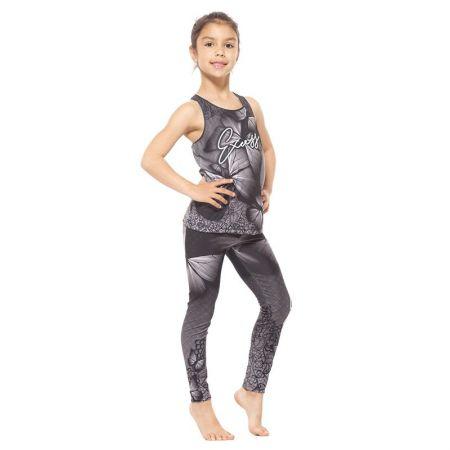 Детски Комплект Клин / Топ EXCESSWEAR Kids Sport Kit Gray Butterfly 516217
