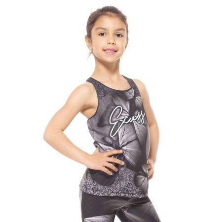 Детски Потник EXCESSWEAR Kids Top Grey Butterfly 516221