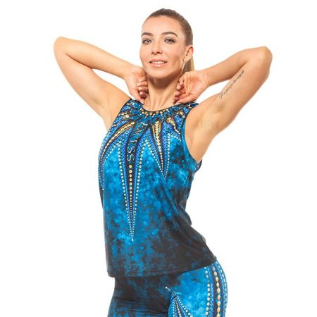Дамски Потник EX FIT Training Top Golden Mandala 515216