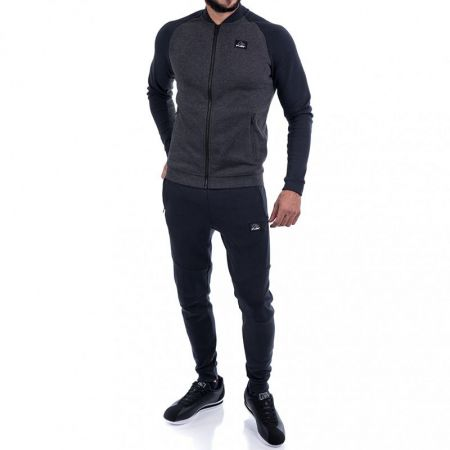 Мъжки Анцуг FLAIR Scuro Grigio Tracksuit 513643 111038