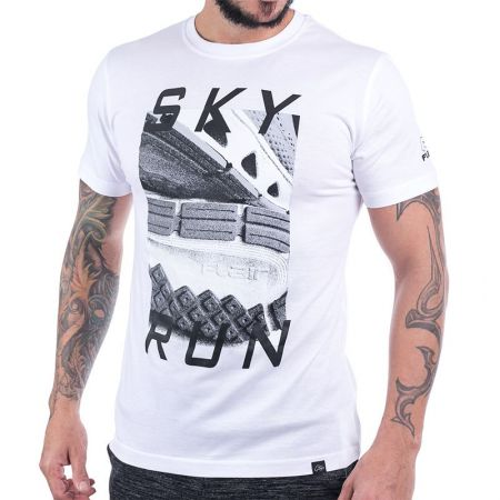 Мъжка Тениска FLAIR Sky Run Sneaker Sole Tee 513840 176155