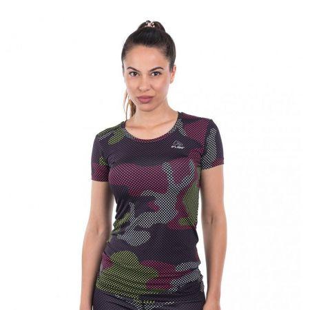 Дамска Тениска FLAIR Pixel Camo T-Shirt 513545 275028