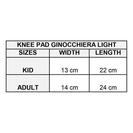 Наколенки GIVOVA Ginocchiera Light 1003 504728 gin01 изображение 2