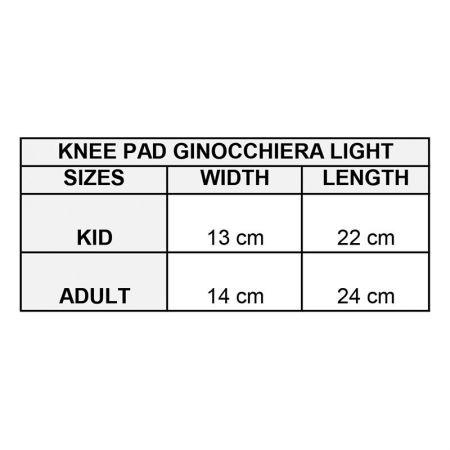 Наколенки GIVOVA Ginocchiera Light 1203 504724 gin01 изображение 3
