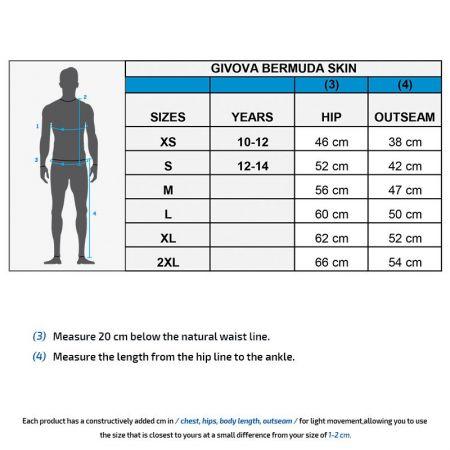 Мъжки Клин GIVOVA Bermuda Skin 0012 504789 p004 изображение 3