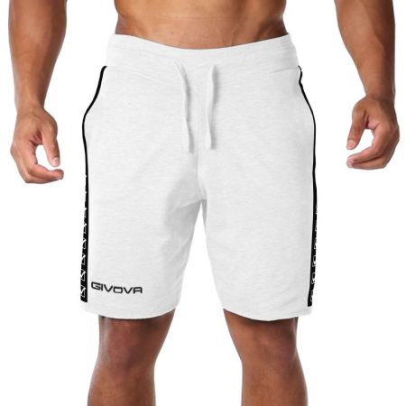 Мъжки Къси Панталони GIVOVA Bermuda Terry Band 0003 515316 BA04