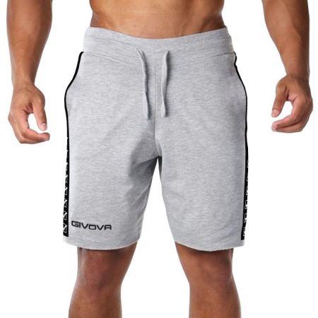 Мъжки Къси Панталони GIVOVA Bermuda Terry Band 0043 515319 BA04