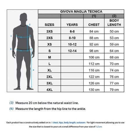 Мъжка Блуза GIVOVA Maglia Tecnica 0019 510749 MA020 изображение 6