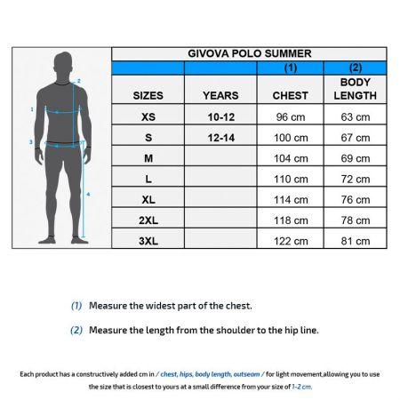 Мъжка Тениска GIVOVA Polo Summer 0010 505009 ma005 изображение 3