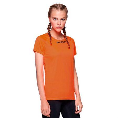 Дамска Тениска GIVOVA Shirt One ML 0001 516168 MAC01