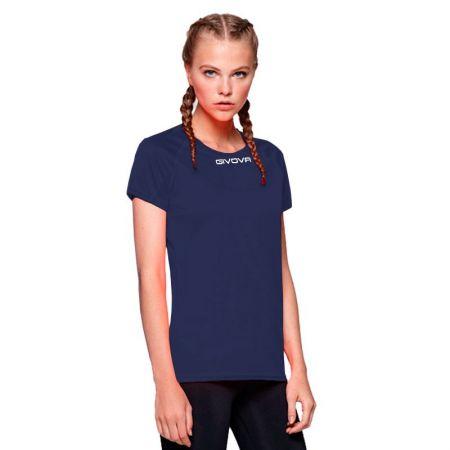 Дамска Тениска GIVOVA Shirt One ML 0004 516171 MAC01