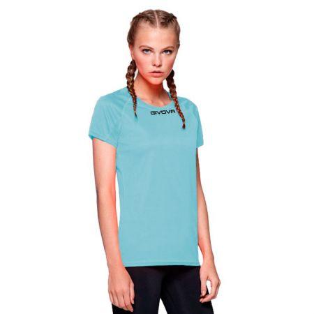 Дамска Тениска GIVOVA Shirt One ML 0005 516172 MAC01