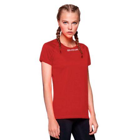 Дамска Тениска GIVOVA Shirt One ML 0012 516181 MAC01