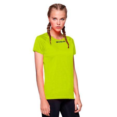 Дамска Тениска GIVOVA Shirt One ML 0019 516175 MAC01