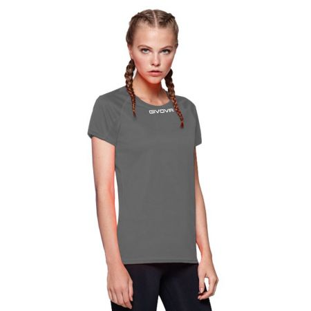Дамска Тениска GIVOVA Shirt One ML 0023 516178 MAC01