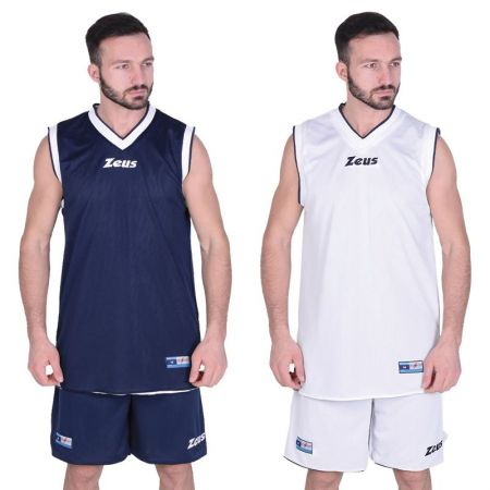 Двулицев Баскетболен Екип ZEUS Kit Doblo Blu/Bianco 506144 Kit Doblo