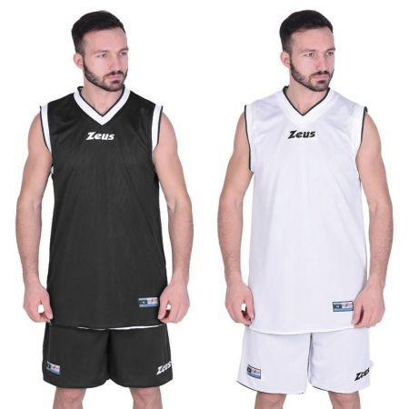 Двулицев Баскетболен Екип ZEUS Kit Doblo Nero/Bianco 506146 Kit Doblo