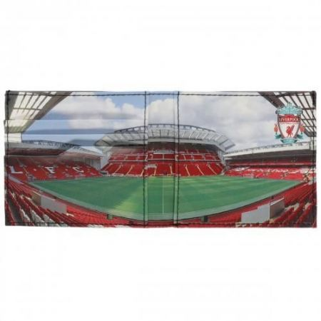 Портфейл LIVERPOOL Stadium Leather Wallet 500247  изображение 3