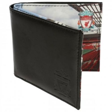 Портфейл LIVERPOOL Stadium Leather Wallet 500247