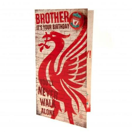 Картичка LIVERPOOL Birthday Card Brother 500736 w10carlv