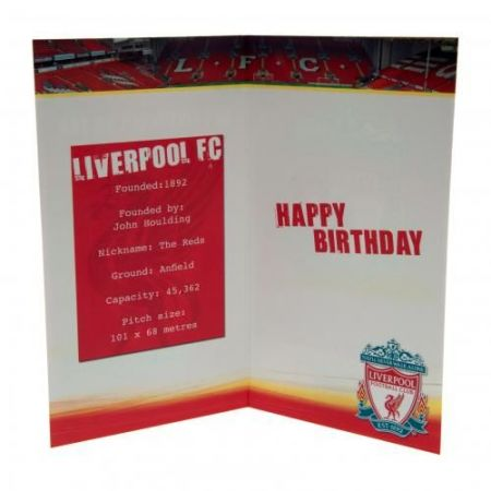 Картичка LIVERPOOL Birthday Card No 1 Fan 504505 z01carlvno изображение 2