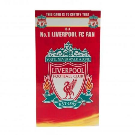 Картичка LIVERPOOL Birthday Card No 1 Fan 504505 z01carlvno изображение 3