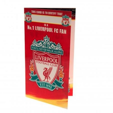 Картичка LIVERPOOL Birthday Card No 1 Fan 504505 z01carlvno