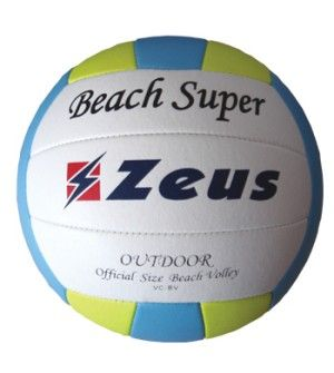 Плажна Волейболна Топка ZEUS Beach Volley Super 160309 507428 Beach Volley Super