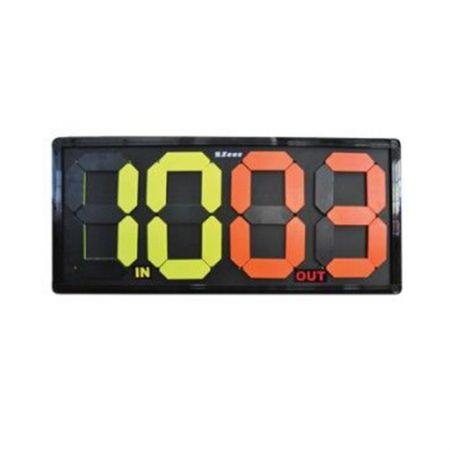Табло За Смени ZEUS Cambio Giocatore Manuale Big 507571 Cambio Giocatore Manuale Big