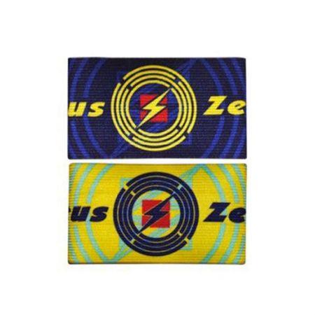 Двулицева Капитанска Лента ZEUS Fascia Capitano Double Blu/Giallo 507539 Fascia Capitano Double