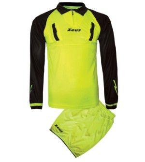 Съдийски Екип ZEUS Kit Arbitro Eko 509708 Kit Arbitro Eko