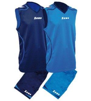Баскетболен Екип ZEUS Reversible Kit Basket Fauno 0102 506151 Kit Basket Fauno