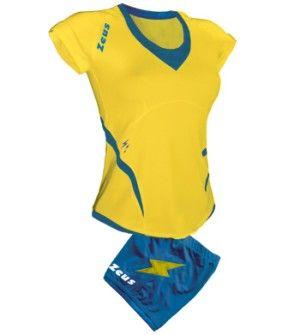 Дамски Волейболен Екип ZEUS Kit Manila 0902 506088 Kit Manila