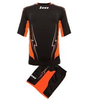 Волейболен Екип ZEUS Kit Volley Tuono Uomo Nero/Arancio 506137 Kit Volley Uomo Tuono
