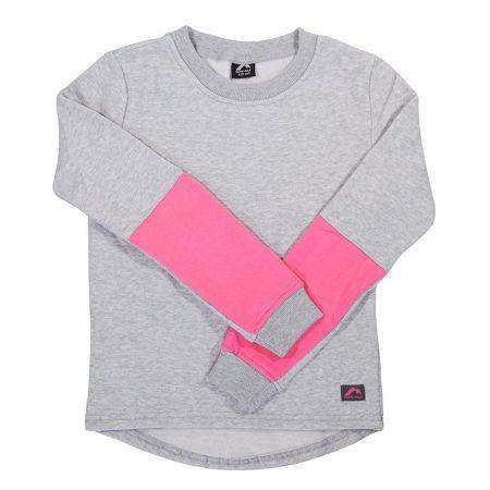 Детска Блуза MORE MILE Girls Fleece Sweatshirt 515033 MM2999