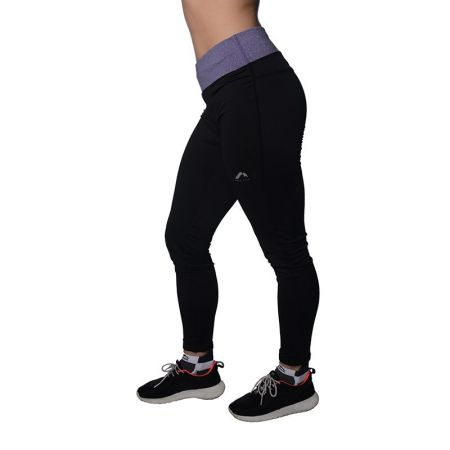 Дамски Клин MORE MILE Marl Womens Long Running Tights 515025  MM1758
