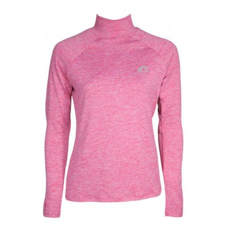 Дамска Блуза MORE MILE Train To Run Womens Long Sleeve Funnel Neck Running Top 514999 MM2976