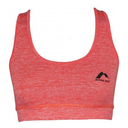 Дамско Бюстие MORE MILE Train To Run Womens Running Crop Top 514986 MM2969