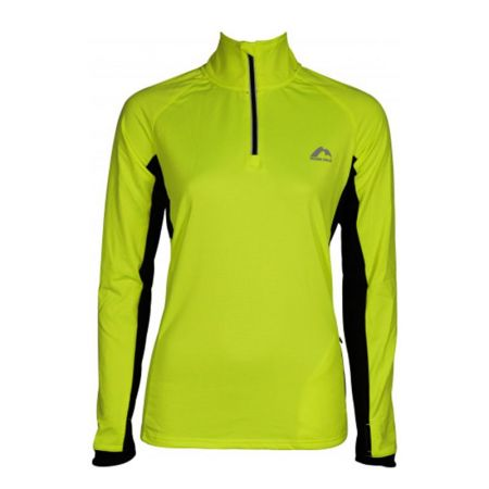 Дамски Суичър MORE MILE Vancouver 2 Womens Half Zip Thermal Running Top 514994 MM2937