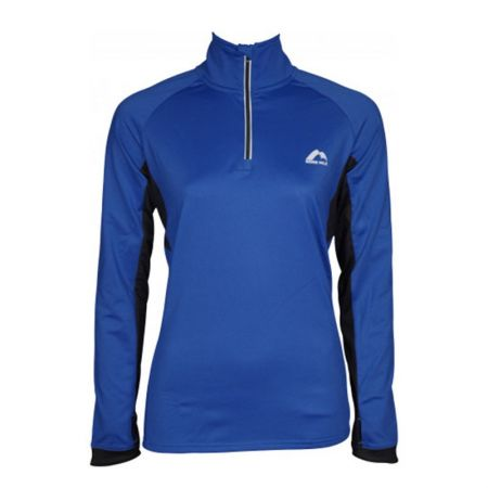 Дамски Суичър MORE MILE Vancouver 2 Womens Half Zip Thermal Running Top 514997 MM2936