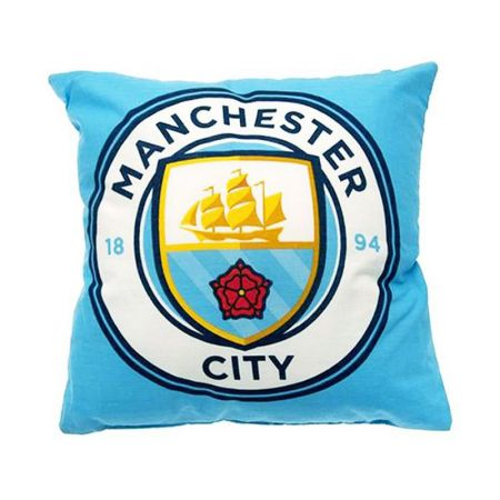 Възглавница MANCHESTER CITY Crest Cushion 504231 13870