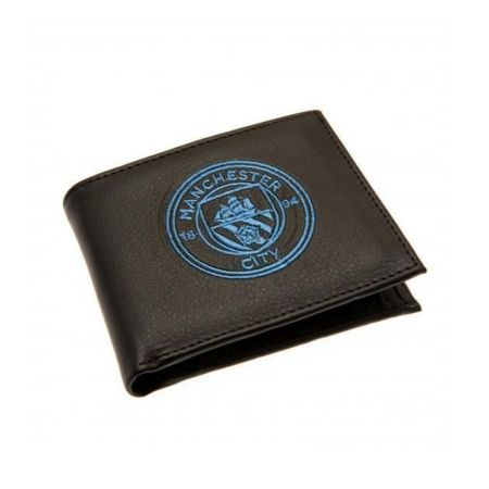 Портфейл MANCHESTER CITY Embroidered Leather Wallet 509383 m30700mcn-14770